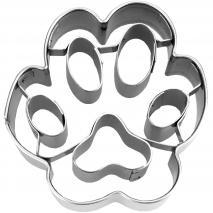 Cortador galletas huella de perro pequeña 4,5 cm
