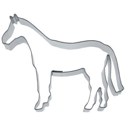 Cortador galletas caballo 8 cm