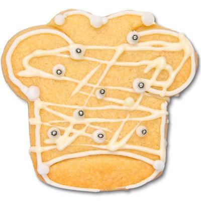 Cortador galletas gorro de cocinero 6 cm