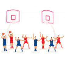 Juego 10 piezas decoración baloncesto
