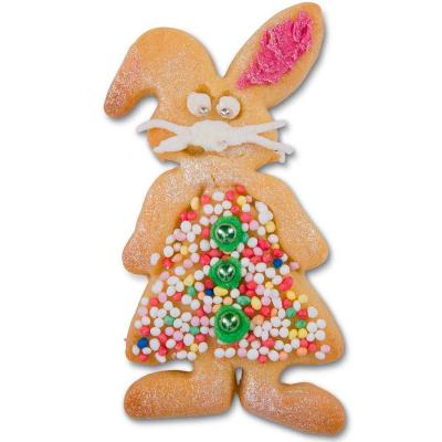 Cortador galletas conejo niña 8 cm
