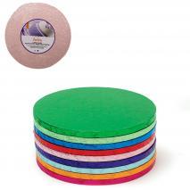 Base per pastissos rodona rosa