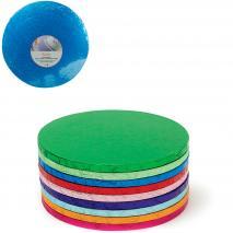 Base para pasteles redonda azul rey