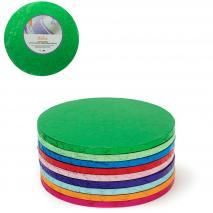 Base para pasteles redonda verde