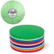Base para pasteles redonda verde claro