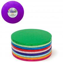 Base para pasteles redonda violeta