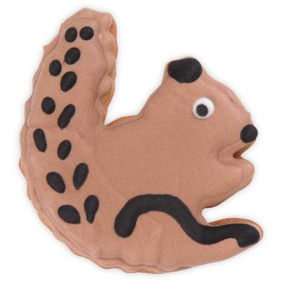 Cortador galletas ardilla comiendo 6 cm