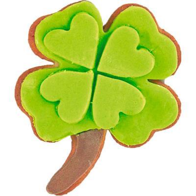 Cortador galletas trébol 4 hojas 7 cm