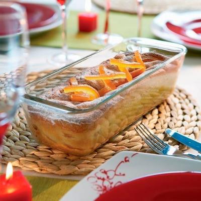 Molde Plum cake rectangular Pyrex