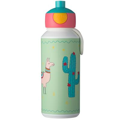 Botella pop-up 400 ml Llama
