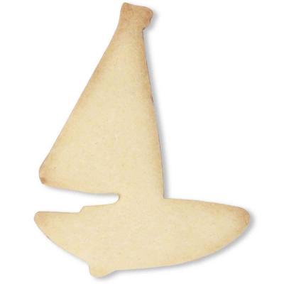 Cortador galletas barco de vela 10 cm