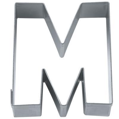 """Cortador galletas letra """"M"""" 6,5 cm"""