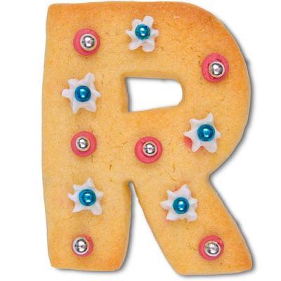 Cortador galletas letra
