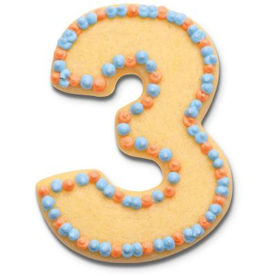 Cortador galletas número