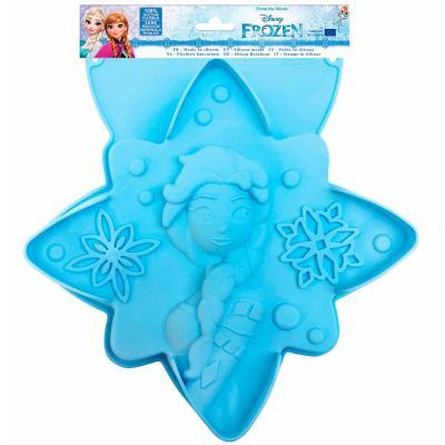 Molde Frozen silicona 28 cm