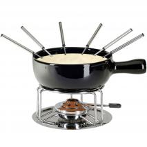 Fondue queso negro 9 piezas