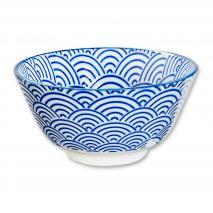 Bol arroz japonés Nippon Blue ola 12 cm