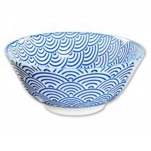 Bol japonés Tayo Nippon Blue ola 15 cm