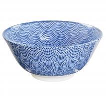Bol japonès Tayo Nippon Blue dots 15 cm