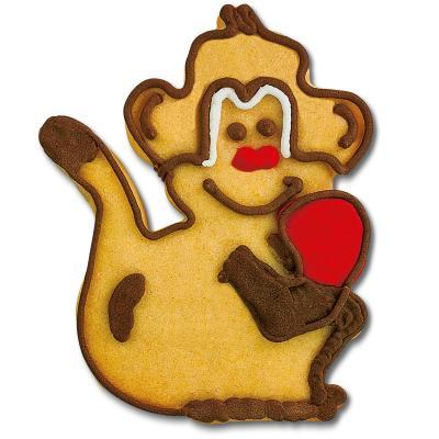 Cortador galletas mono 9 cm