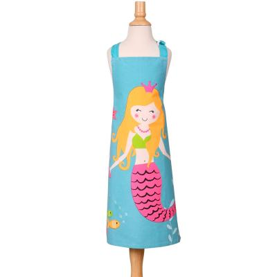 Delantal infantil sirena del mar