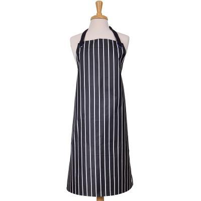 Delantal adulto rayas butchers stripe azul