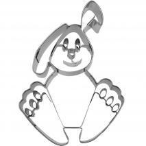 Cortador galletas conejo bunny 9 cm