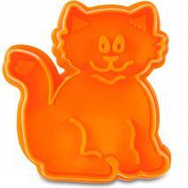 Cortador decorador gato 6 cm