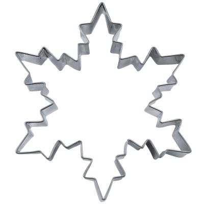 Cortador galletas estrella nieve 8 cm