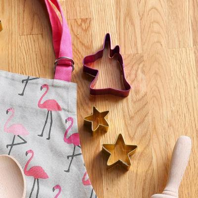 Cortador galletas Unicorn lila