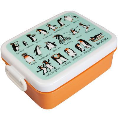 Fiambrera snack Penguins