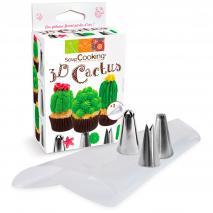 Set 3 boquillas Cactus