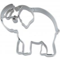 Cortador galletas elefante 7 cm