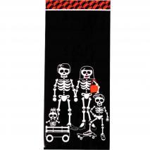 Bolsas galletas y dulces x20 Esqueletos