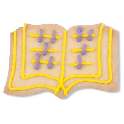 Cortador galletas libro abierto 7 cm