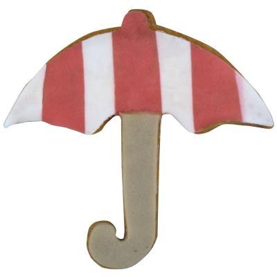 Cortador galletas paraguas 8 cm