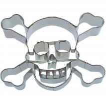 Tallador galetes calavera pirata 9 cm