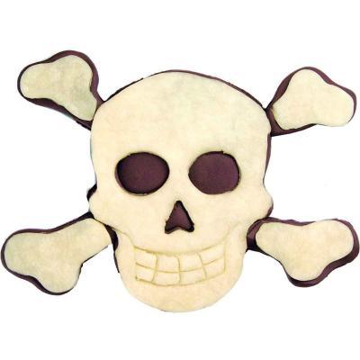 Cortador galletas calavera pirata 9 cm