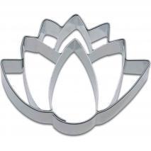 Cortador de galletas flor de lotus 6 cm