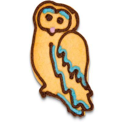 Cortador galletas buho 8 cm