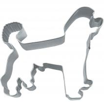 Cortador galletas perro poodle 8,5 cm