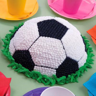 Molde media pelota fútbol aluminio 22 cm