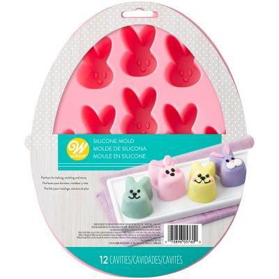 Molde silicona Mini dulces Conejitos x12