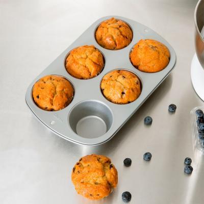 Molde 6 cupcakes Jumbo Wilton