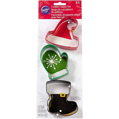 Set 3 cortadores galletas Navidad Winterwear