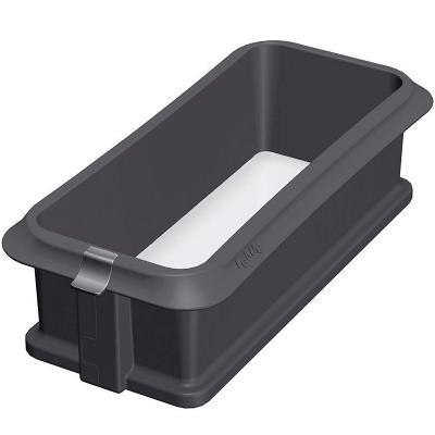 Molde rectangular silicona desmontable 25 cm