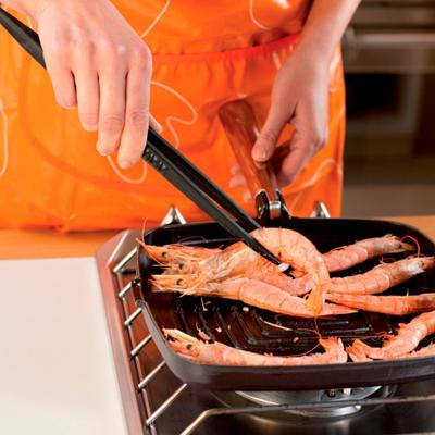 Pinzas cocina silicona gran apertura 30 cm