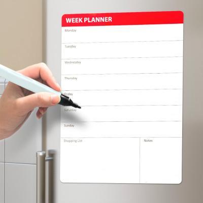 Pizarra iman Week Planner con rotulador