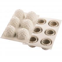 Molde silicona 3D Segreti del Bosco x6