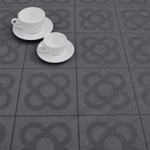 Mantel resinado Jacquard modernista